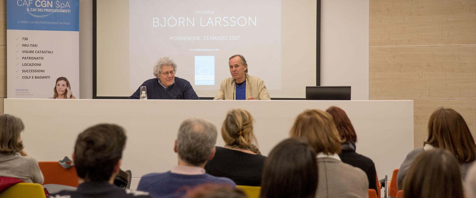 Bjorn Larsson incontra CGN