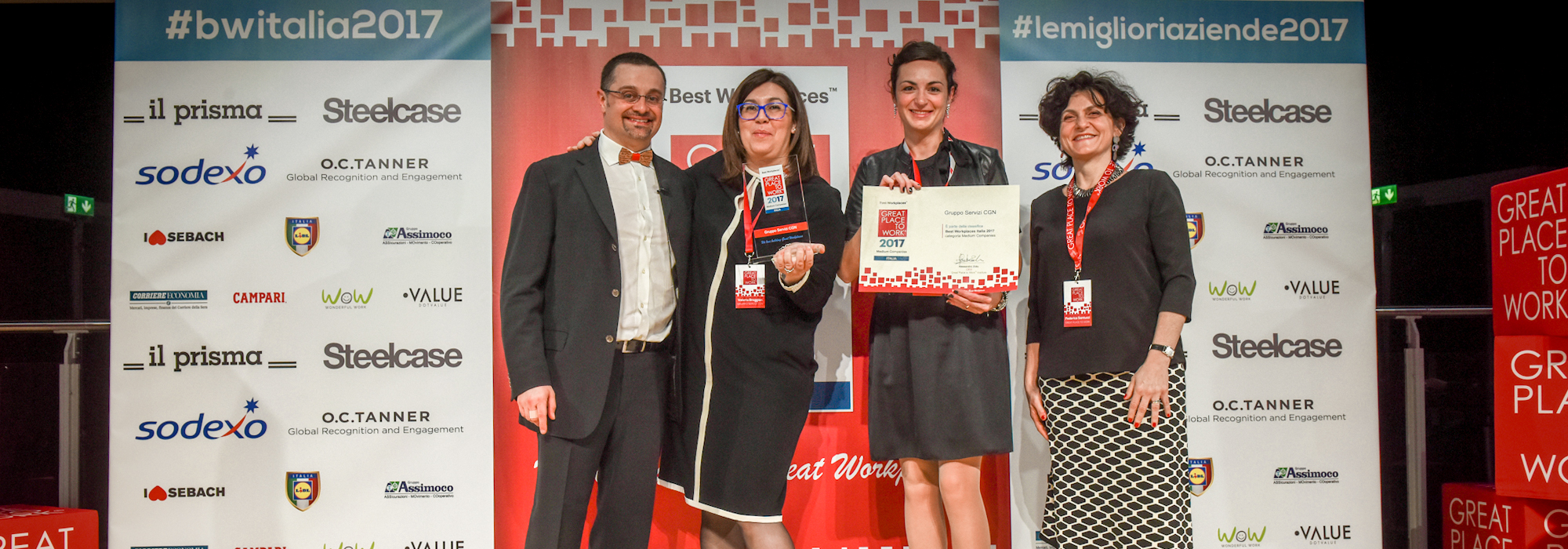 Servizi CGN è un Great Place to Work 2016