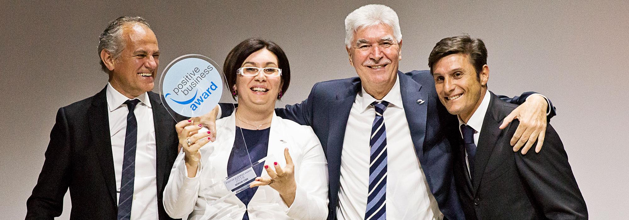 Positive Business Award 2014
